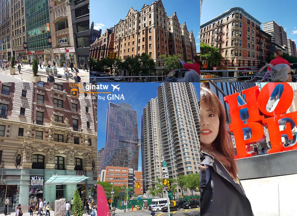 美東自由行》最快且快輕鬆認識紐約的方式 – 日夜遊覽曼哈頓觀光巴士(自由隨上隨下) @Gina Lin