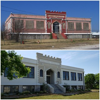 Eagle Ford School Before After
