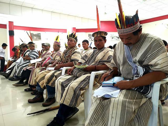 Primera Convención Nacional de los Pueblos Originarios Amazónicos