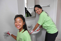 Hawaiian Electric at Kahauiki Village — July 13, 2019: Bathrooms were spotlessly cleaned by our volunteers!