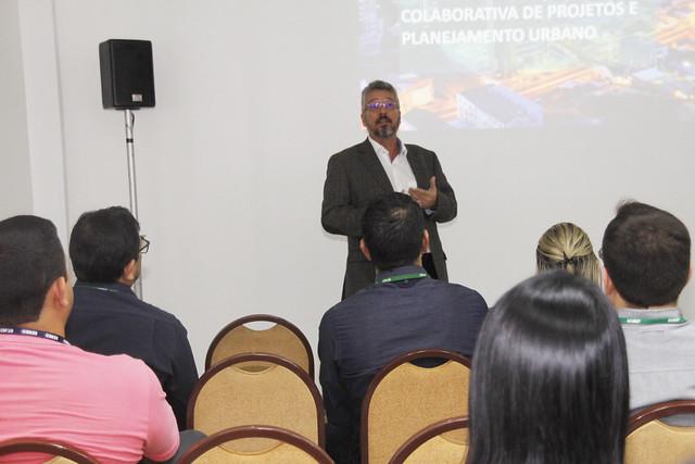 Manaus. 17.07.19.implantação ferramenta da plataforma da velocidade e econômia nas obras da PMM