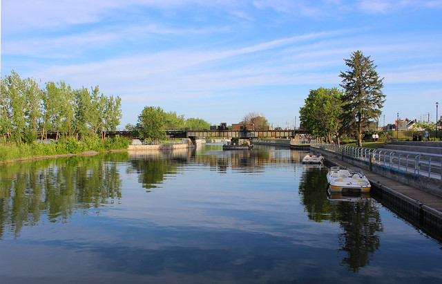Chambly Canal, St-Jean-sur-Richelieu, Quebec