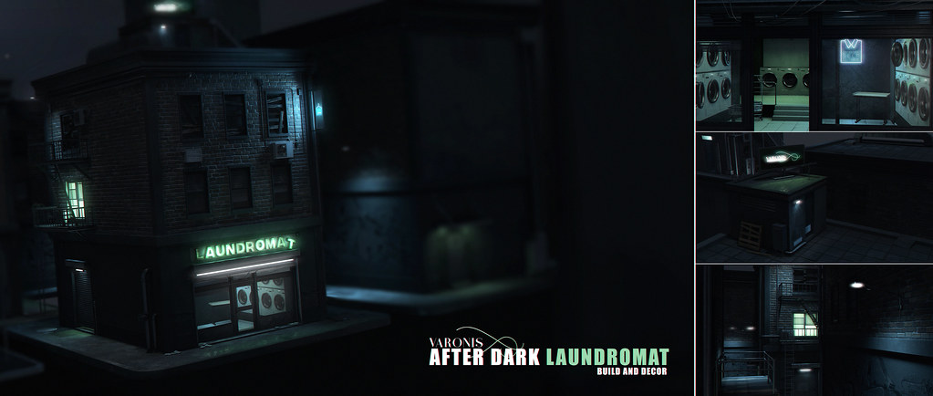 VARONIS – After Dark: Laundromat @ Kustom9