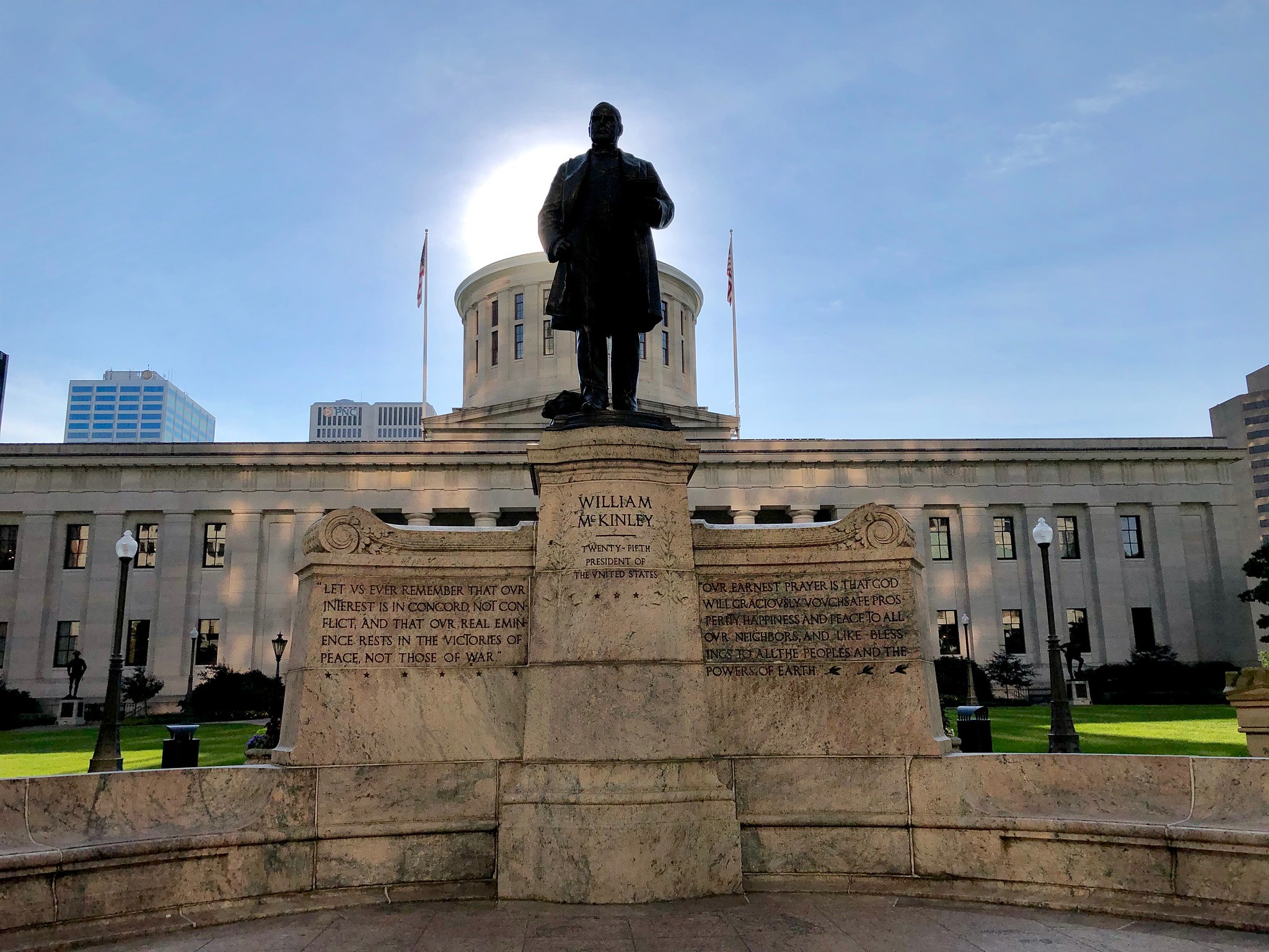 William McKinley Memorial, Columbus, OH