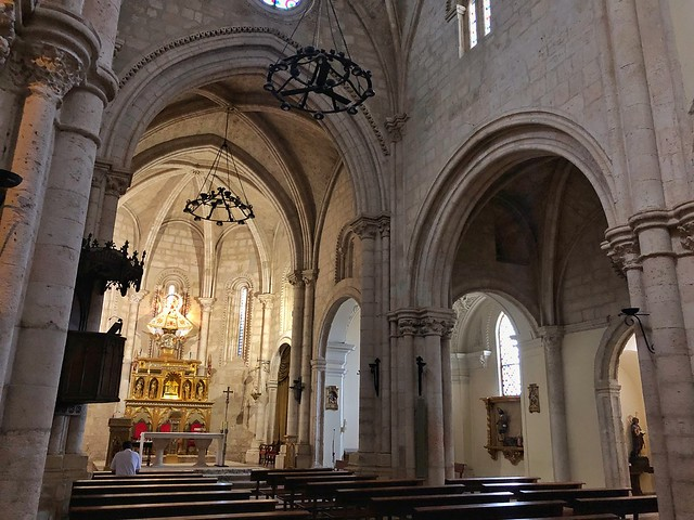 Interior de la iglesia de Santa María de la Peña (Brihuega, Guadalajara)