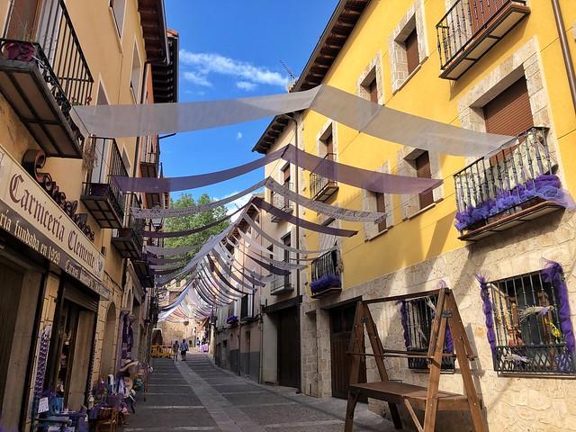 Calle Cadena en Brihuega