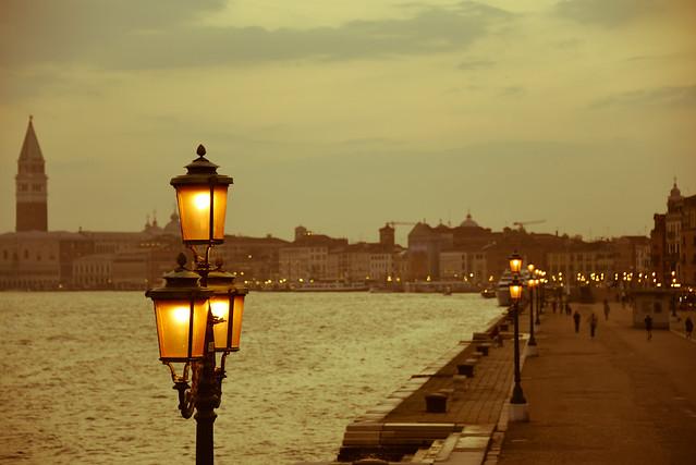 Venezia - Βενετία σούρουπο