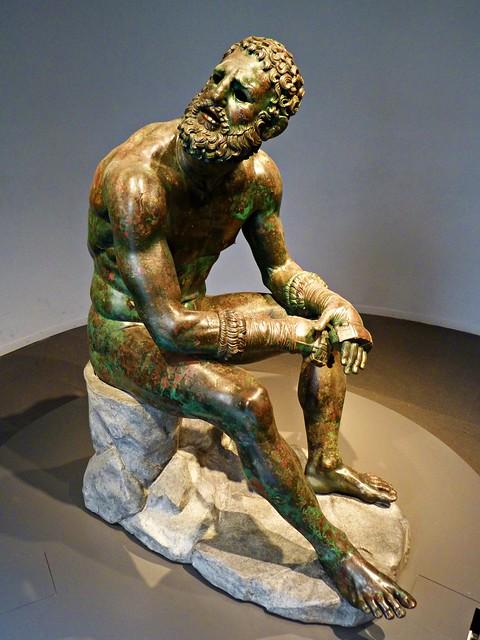 Boxeador en reposo. Palazzo Massimo Alle Terme, Museo Nazionale Romano. Roma 🇮🇹