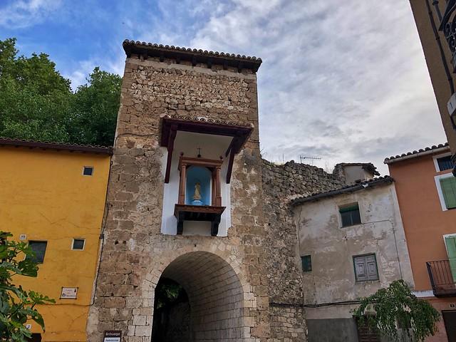 Puerta de Guía en Brihuega (Guadalajara)