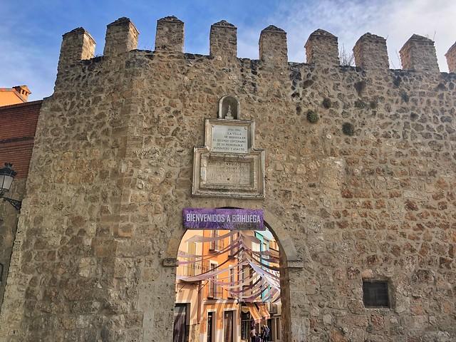 Puerta de la Cadena en Brihuega (Guadalajara)