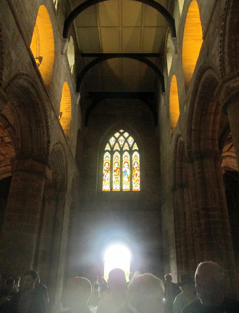 Dunfermline Abbey nave, Stained Glass 1