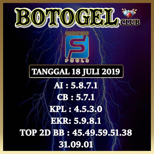 SGP 18 Juli 2019
