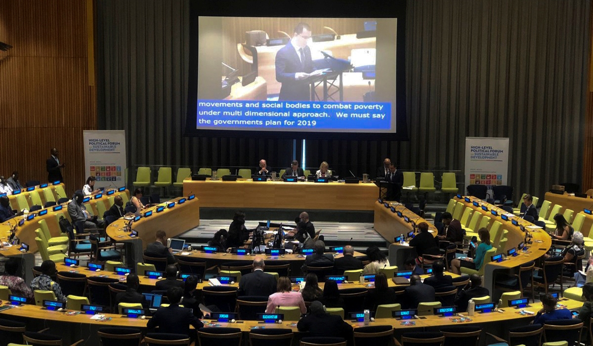 Canciller Arreaza denuncia ilegales medidas coercitivas unilaterales ante Foro Político de Alto Nivel del Ecosoc