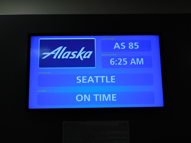 Seattle Departure Board
