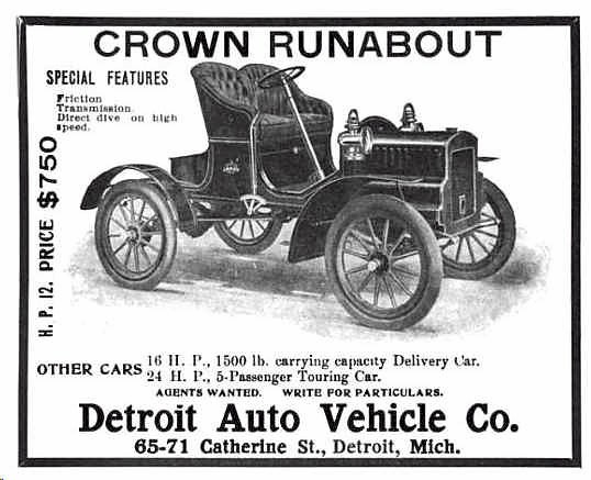 1905 Crown Runabout