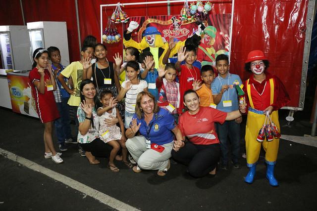 17.07.19 Sessão de circo para crianças em vulnerabilidade social