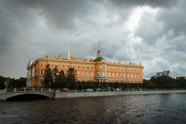 The Mikhailovsky (St Michael's) Castle, Saint-Petersburg