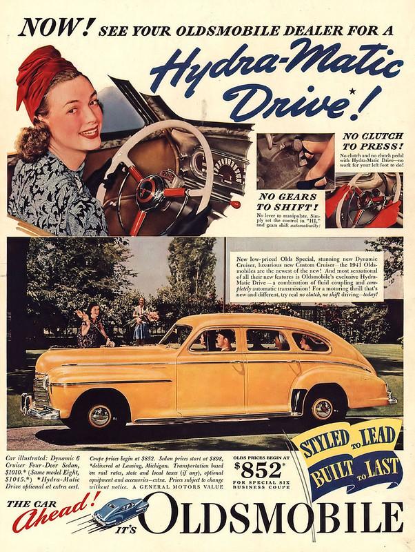 1940 Oldsmobile Dynamic 6 Cruiser Four-Door Sedan
