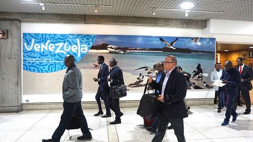 Delegaciones internacionales llegan a Venezuela para asistir a la Reunión Ministerial del Buró de Coordinación del Mnoal