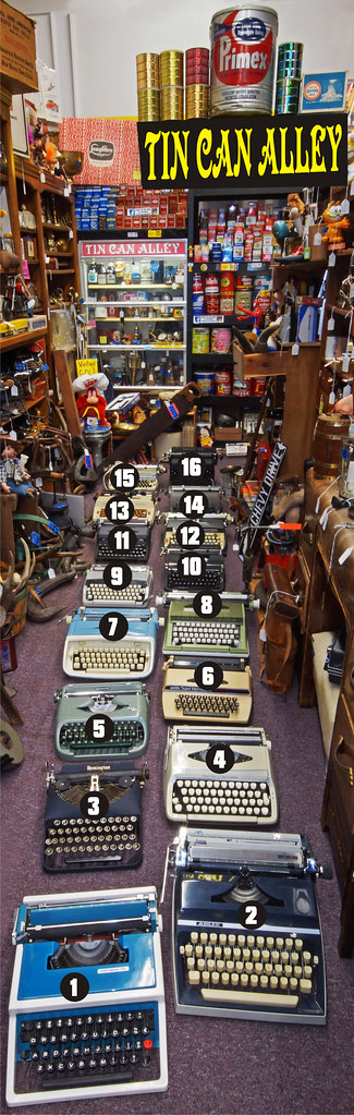 Typewriters with Numbers