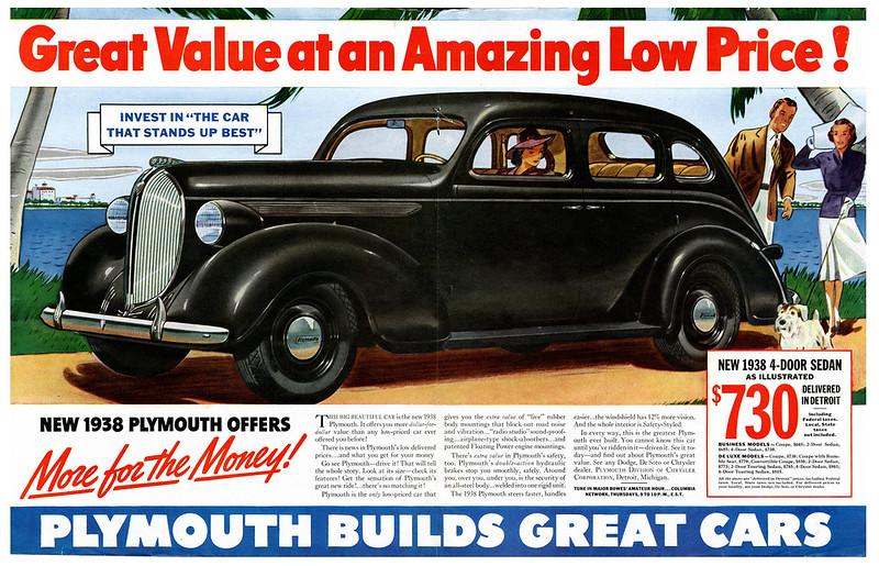 1938 Plymouth 4-Door Sedan