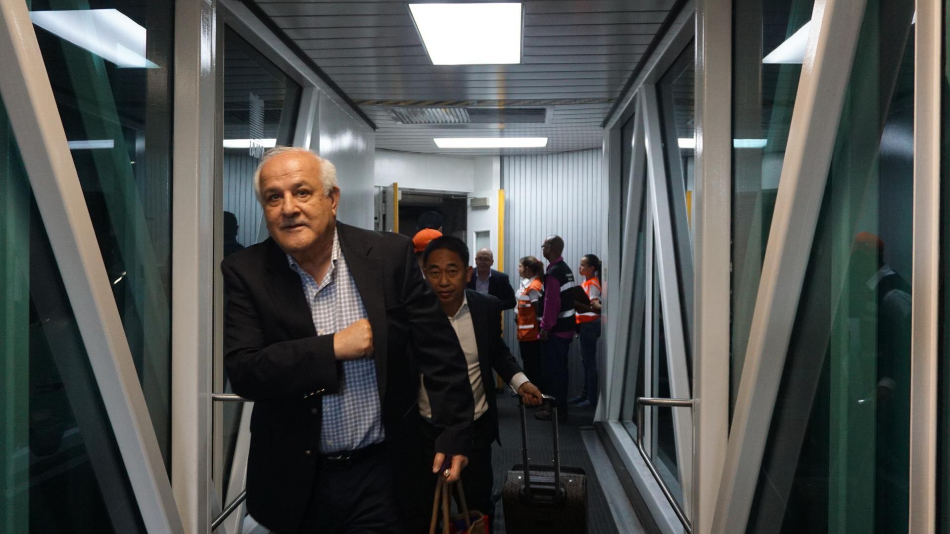 Comienza la llegada de Delegaciones internacionales para la Reunión del Buró de Coordinación del Mnoal
