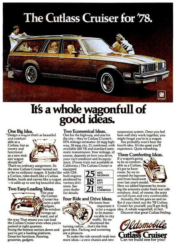 1978 Oldsmobile Cutlass Cruiser