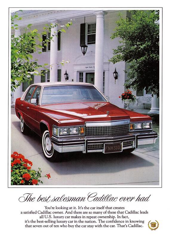 1979 Cadillac Sedan de Ville