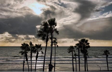 Sunset June 22 Oceanside California From Our Dinning Room Canon50D