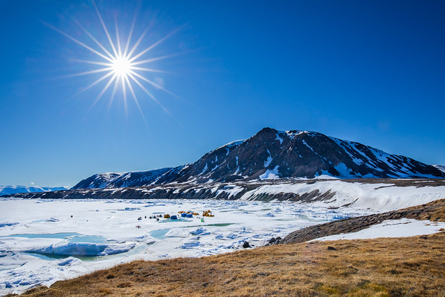 Bylot Island | Button Point Camp and Sunstar