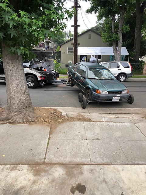 junk vehicles pick up pasadena ca