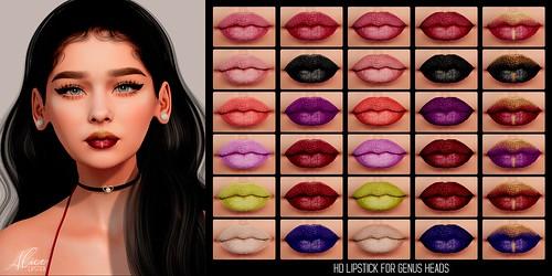 .E l e i. - Alice (Lipstick) for Genus heads