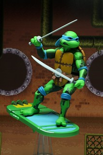 神龜經典電玩作品立體化! NECA《Teenage Mutant Ninja Turtles: Turtles in Time》第一波角色 7吋可動人偶套裝組