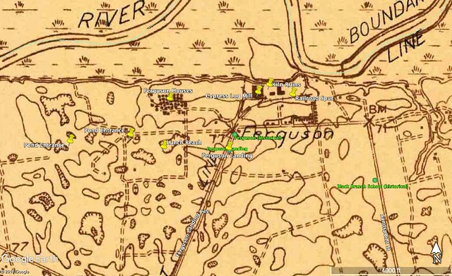 Paddle Route USGS