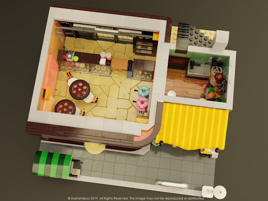 Ground Floor (Doughnut and Noodle Shop)