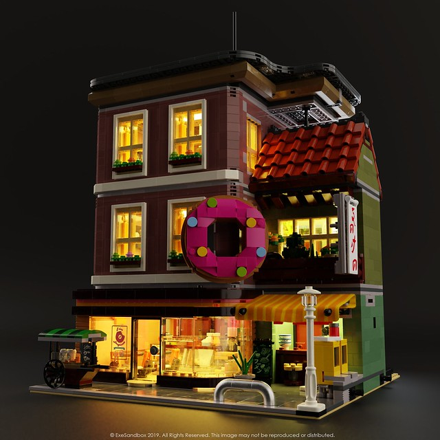 Doughnut Shop (Light-Up)