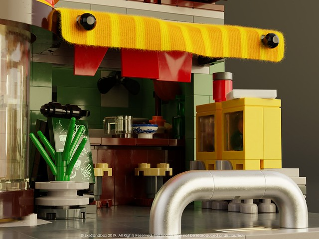 Noodle Shop (Close-Up)