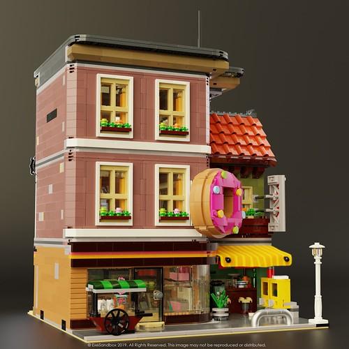 Doughnut Shop (Right Side)
