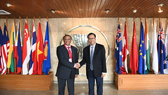 Courtesy Call of DSG Tuan with Joint Mission of the International Organisation of the Francophonie (OIF), the African Union Commission (AUC) and United Nations Office for South-South Cooperation (UNOSSC)