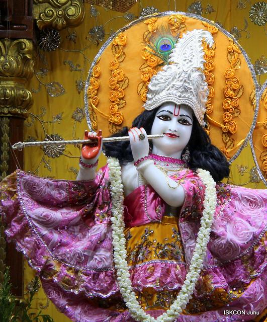 ISKCON Juhu Mangal Deity Darshan on 18th July 2019
