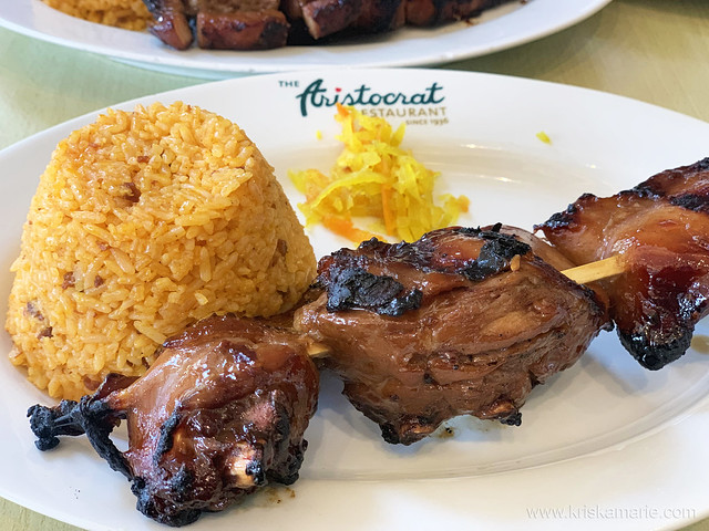 3pc Chicken Barbecue from Aristocrat