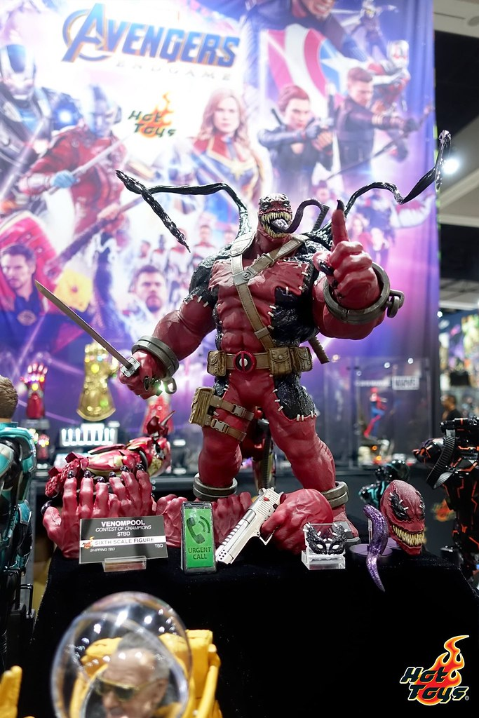 【SDCC 2019】Hot Toys《復仇者聯盟:終局之戰》、《星際大戰》、《牠:第二章》、《蝙蝠俠3》、MARVEL Comics...... 多款1/6 比例人偶新作公開!!