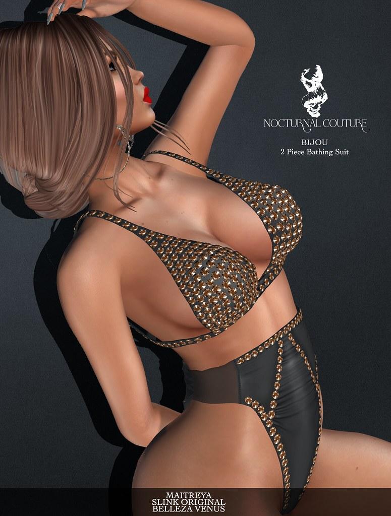 Bijou Bathing Suit Ad