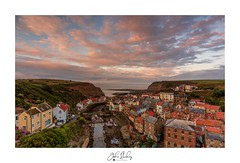 Sunset Over Staithes