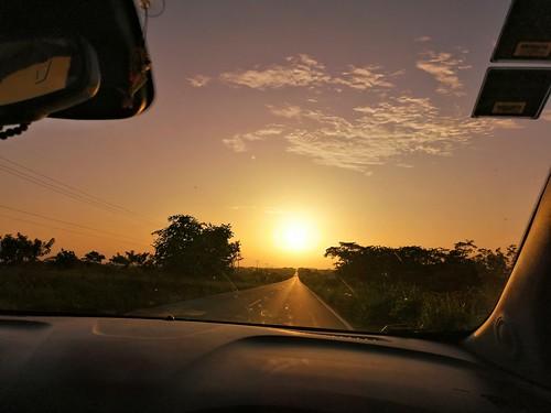 Puwsta de sol #viaje #carretera #veracruz #mexico #huaweimate20lite