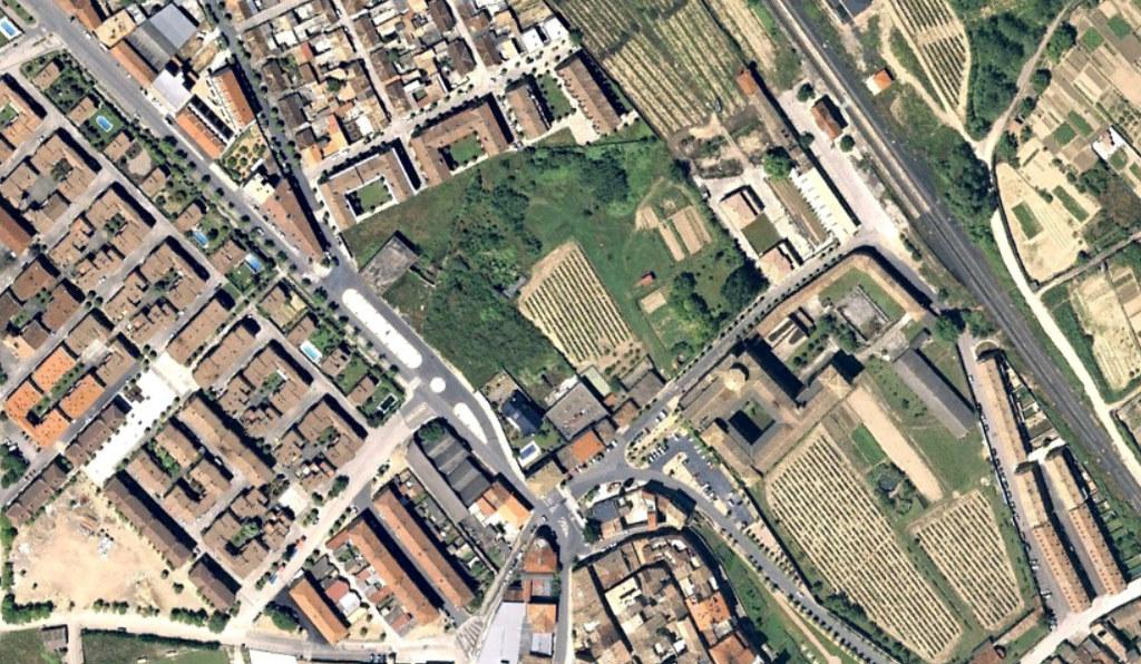 olite, navarra, calles guays en un fincón muy chulo, antes, urbanismo, planeamiento, urbano, desastre, urbanístico, construcción