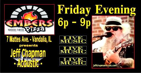 Jeff Chapman Acoustic Friday
