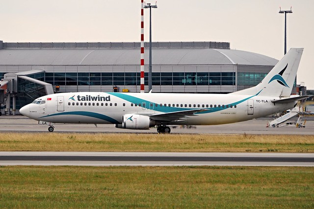 Boeing 737-4Q8  TC-TLA — Tailwind Airlines