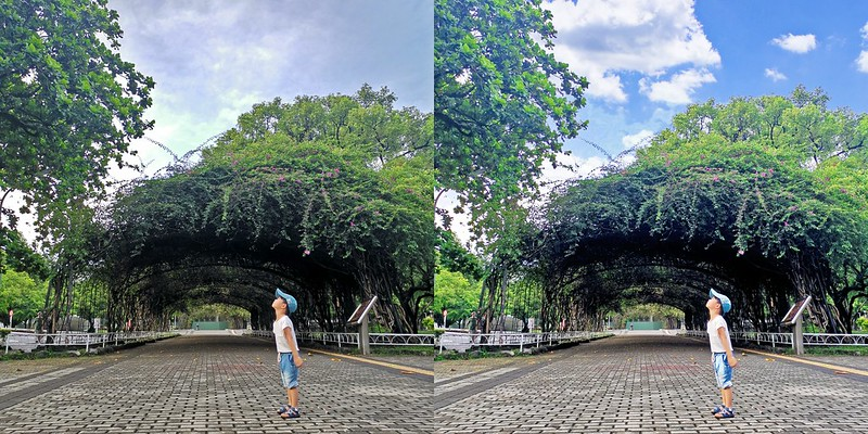 拯救陰天照片大作戰,用PICNIC幫你一秒P出美美的藍天