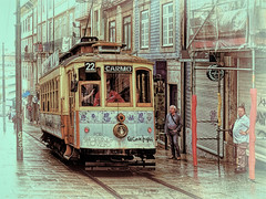Porto 27. Uphill in the rain
